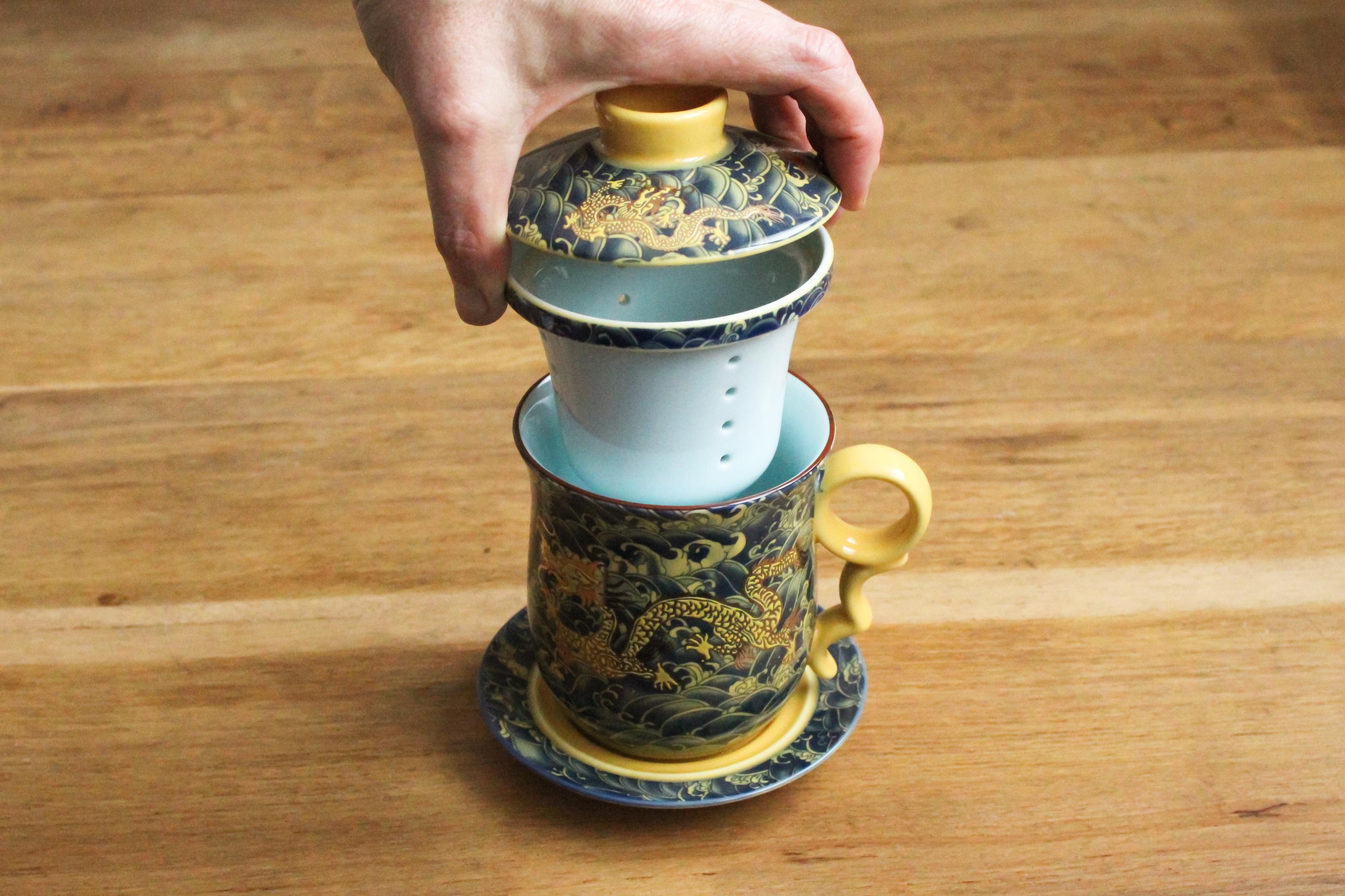 Préparation et dégustation du thé