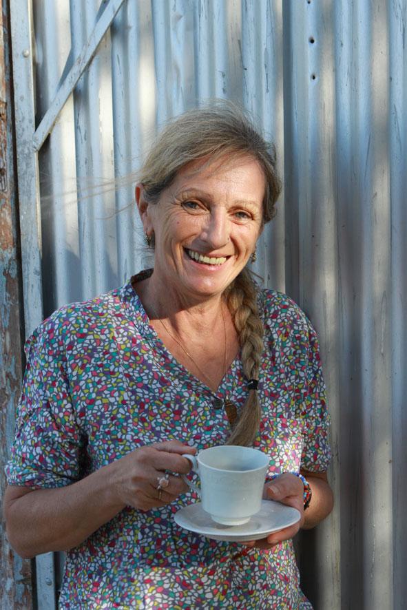 Arlette Rhomer en Afrique-du-Sud-2017